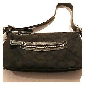 Coach tiny purse used